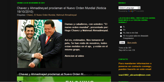 nuevo orden mundial reptiliano hugo chavez mason anunnaki 2012