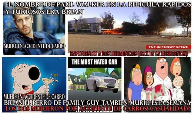 Primeros indicios de que el accidente de Paul Walker fue provocado por